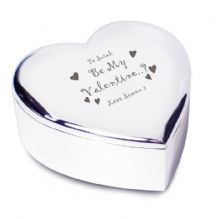 Be My Valentine Heart Trinket